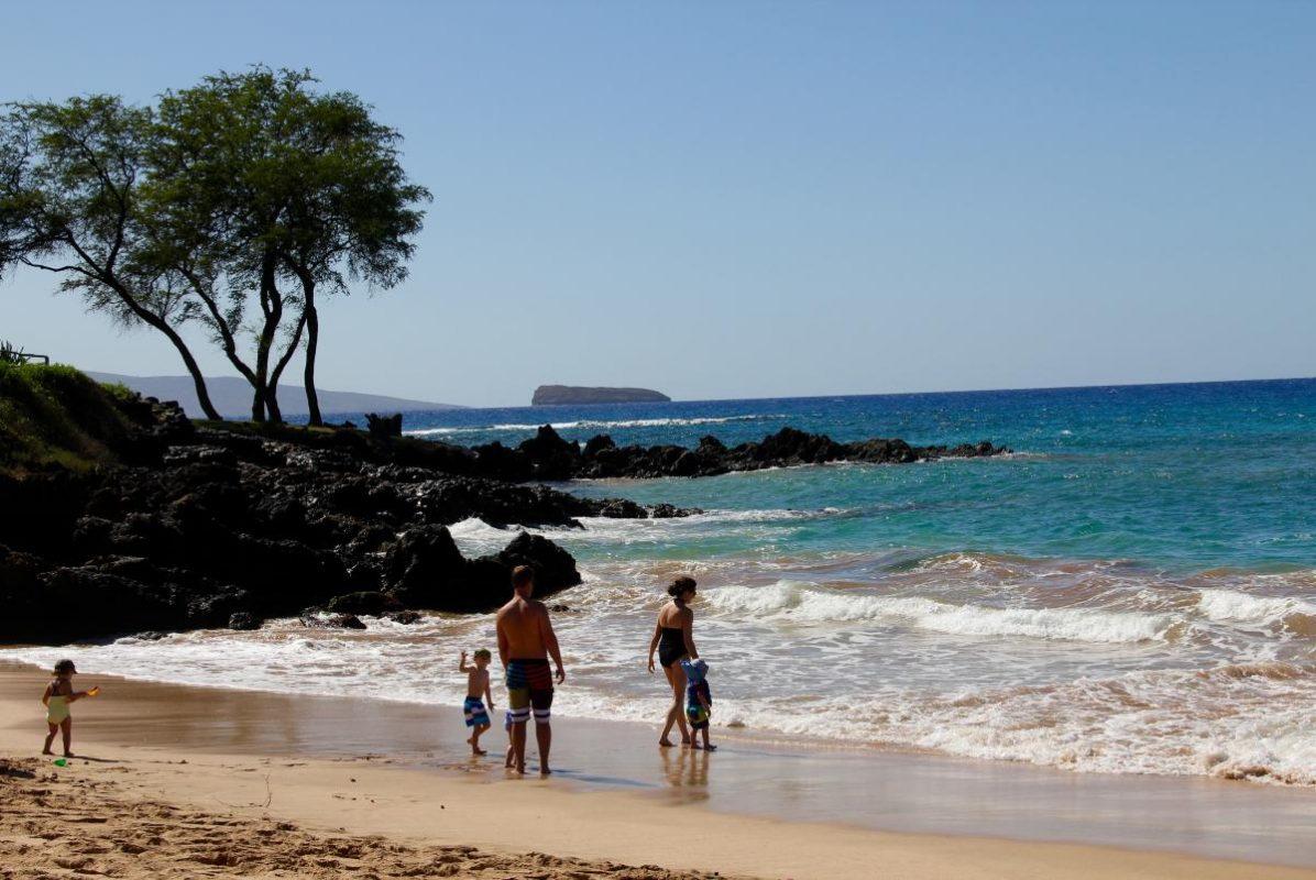 Maluaka Beach Hawaiionamap