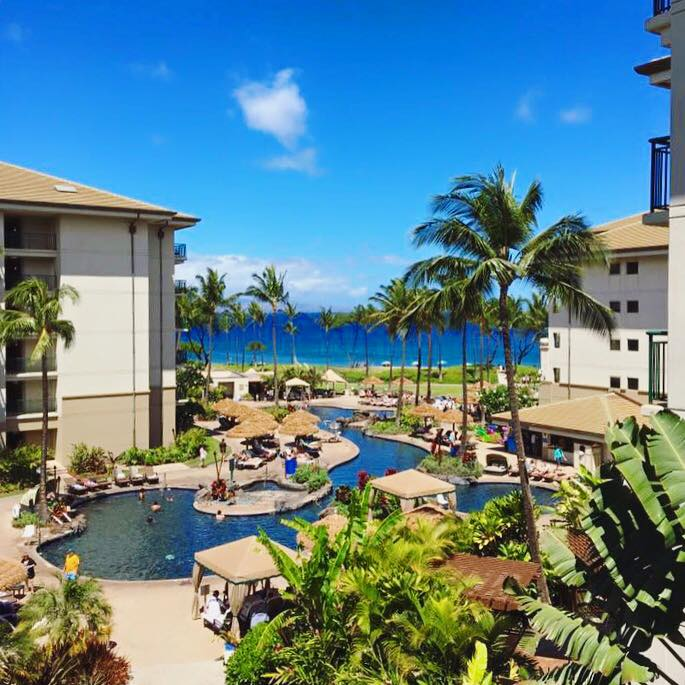 The Westin Kaanapali Ocean Resort Villas Hawaii On A Map