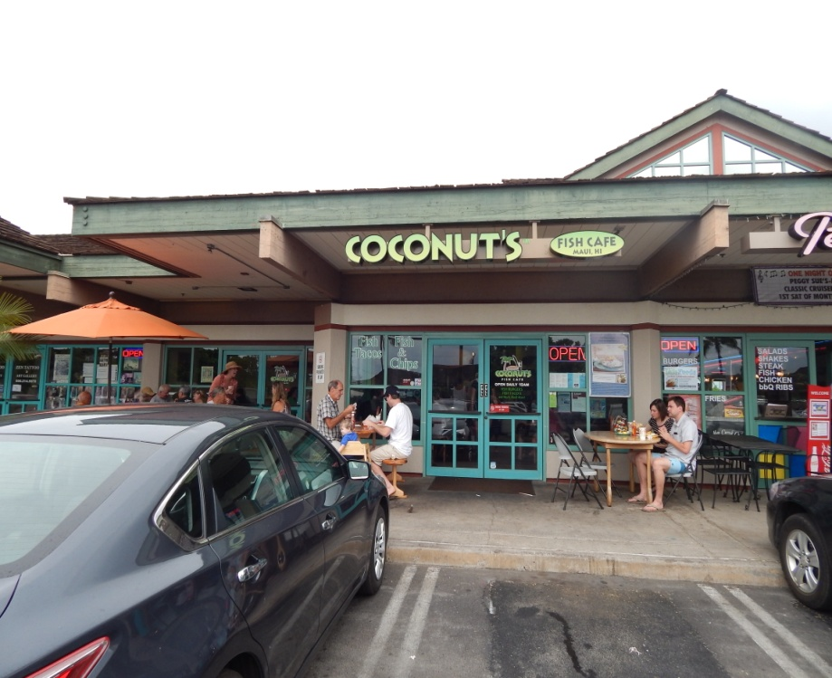 coconut s fish caf hawaiionamap