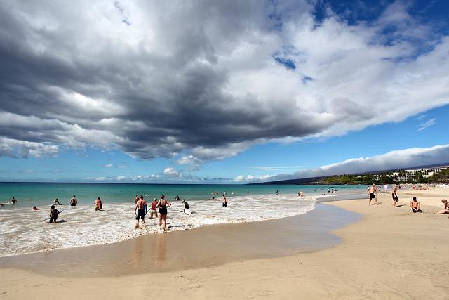 Hapuna Beach State Recreation Area At The Big Island