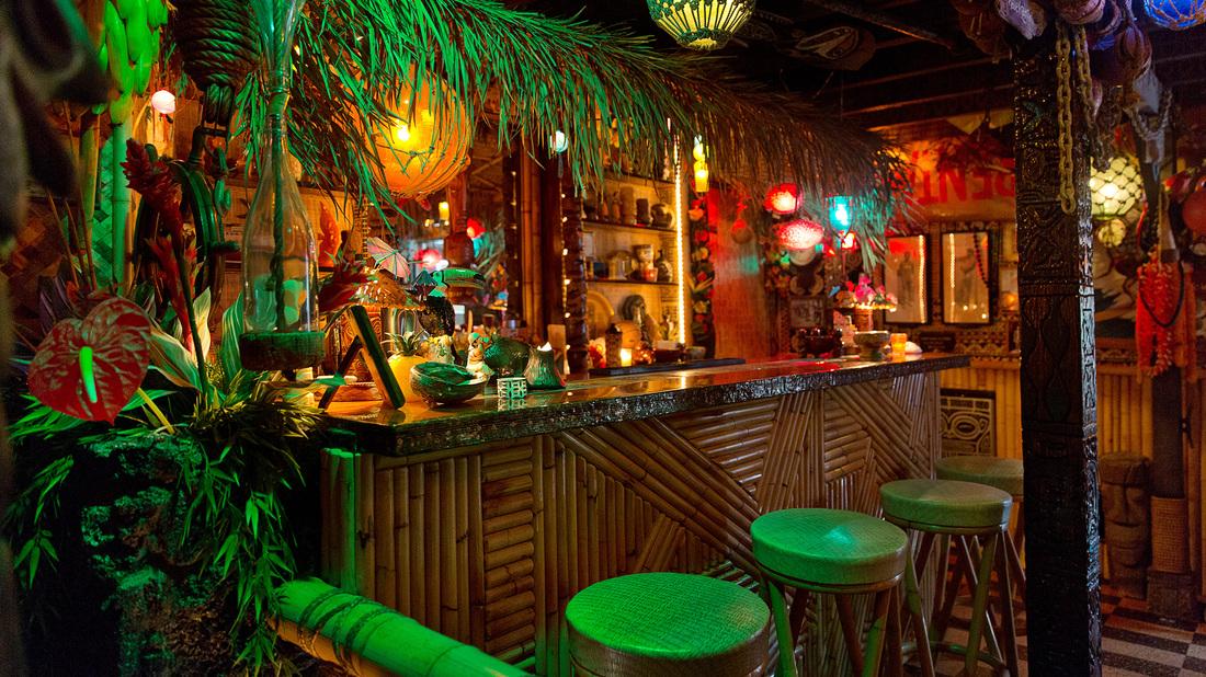 Arnold S Tiki Bar Hawaii On A Map