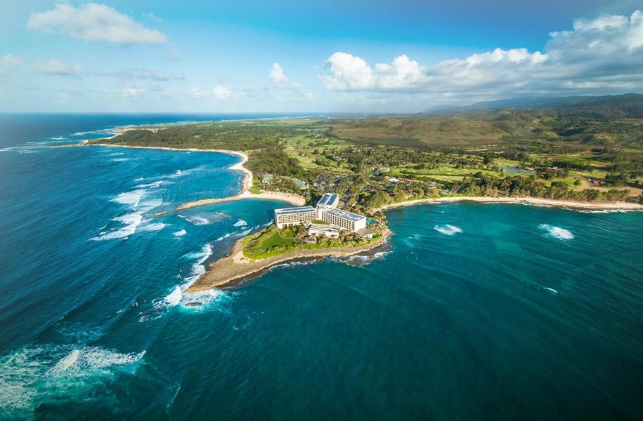 Turtle bay resort hawaii on a map for Home packages hawaii