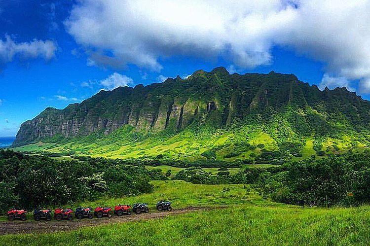 Kualoa Ranch at Oahu, Hawaii - Hawaii on a Map