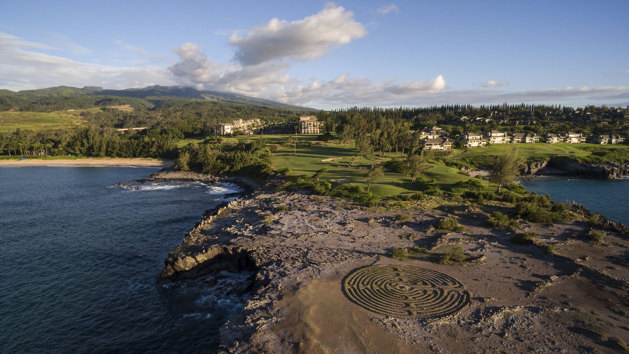 The Ritz Carlton Kapalua Hawaii On A Map