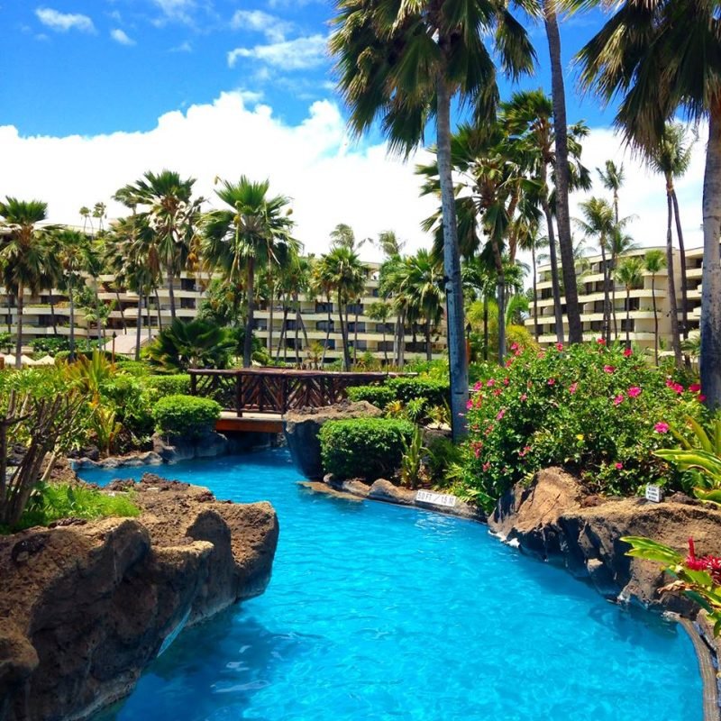 Sheraton Maui Resort Amp Spa At Maui Hawaii Hawaii On A Map