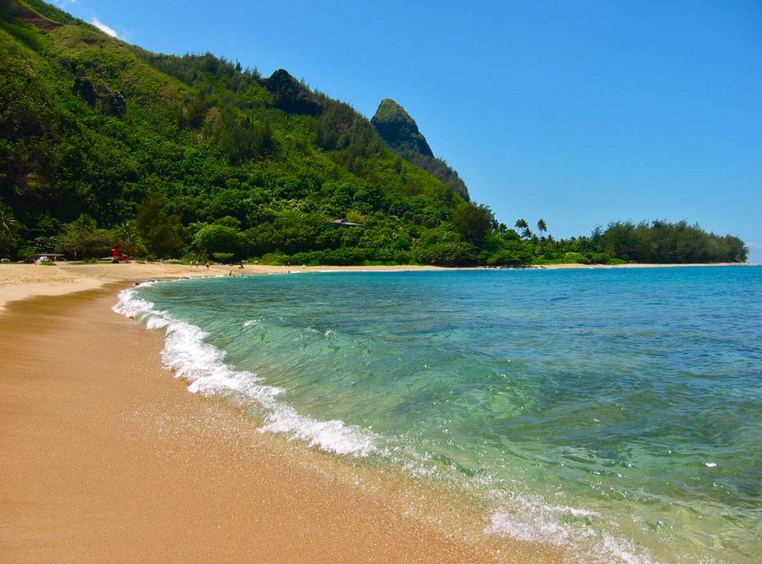 Tunnels Makua Beach Kauai Hi