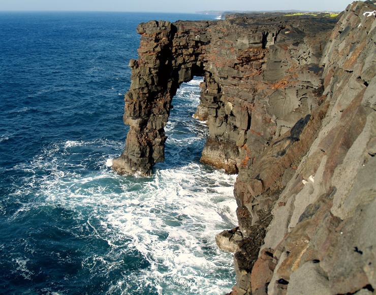 Holei Sea Arch - Hawaii on a Map