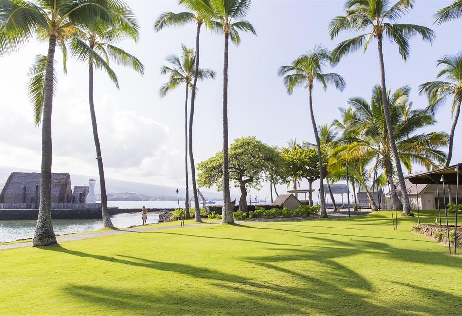 Courtyard King Kamehameha S Kona Beach Hotel Hawaii On A Map
